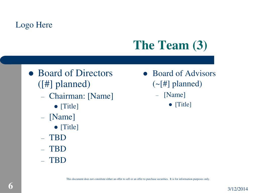 The Team (3)