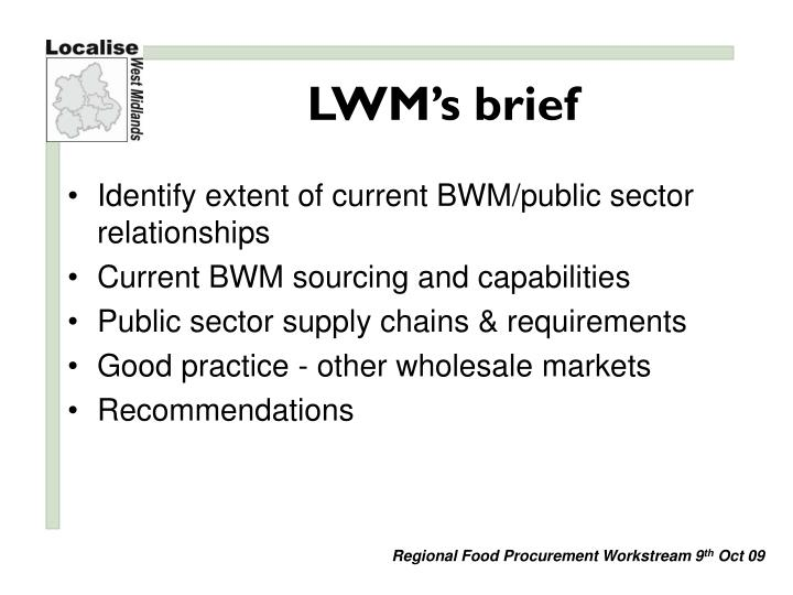 Lwm s brief