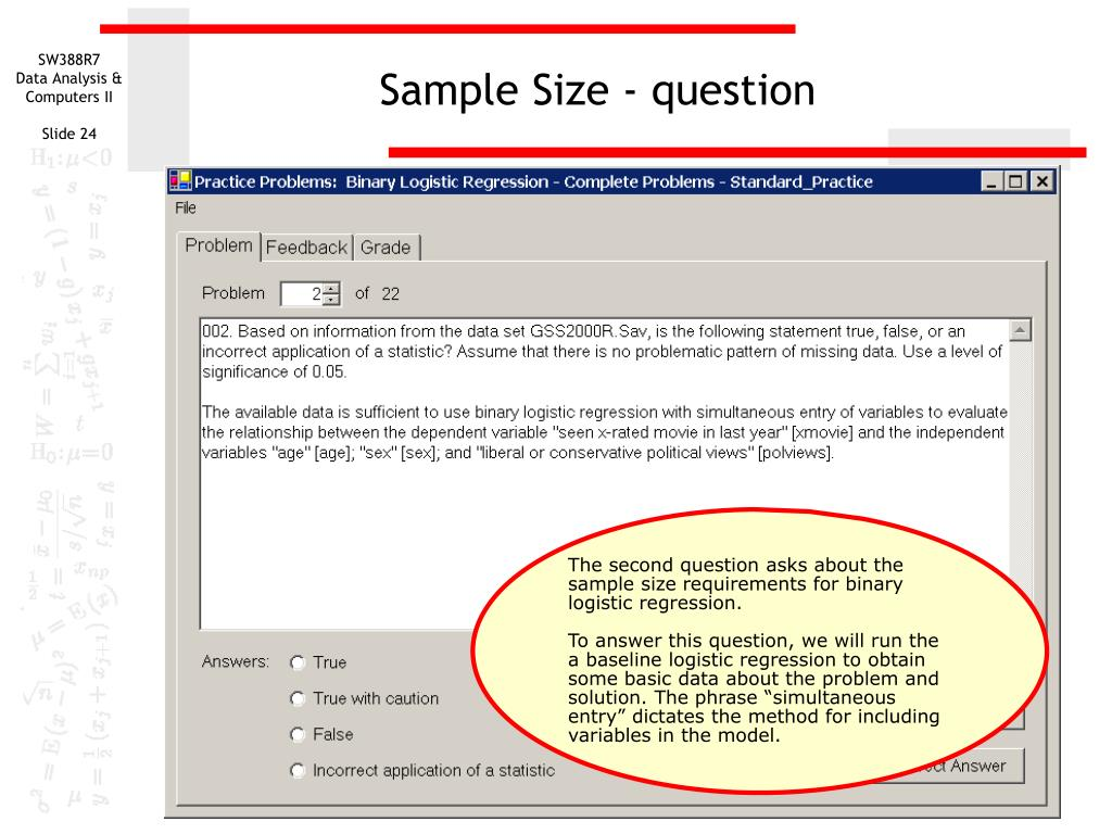 sample size Sample size calculators if you are a clinical researcher trying to determine how many subjects to include in your study or you have another question related to sample size or power calculations, we developed this website for you.