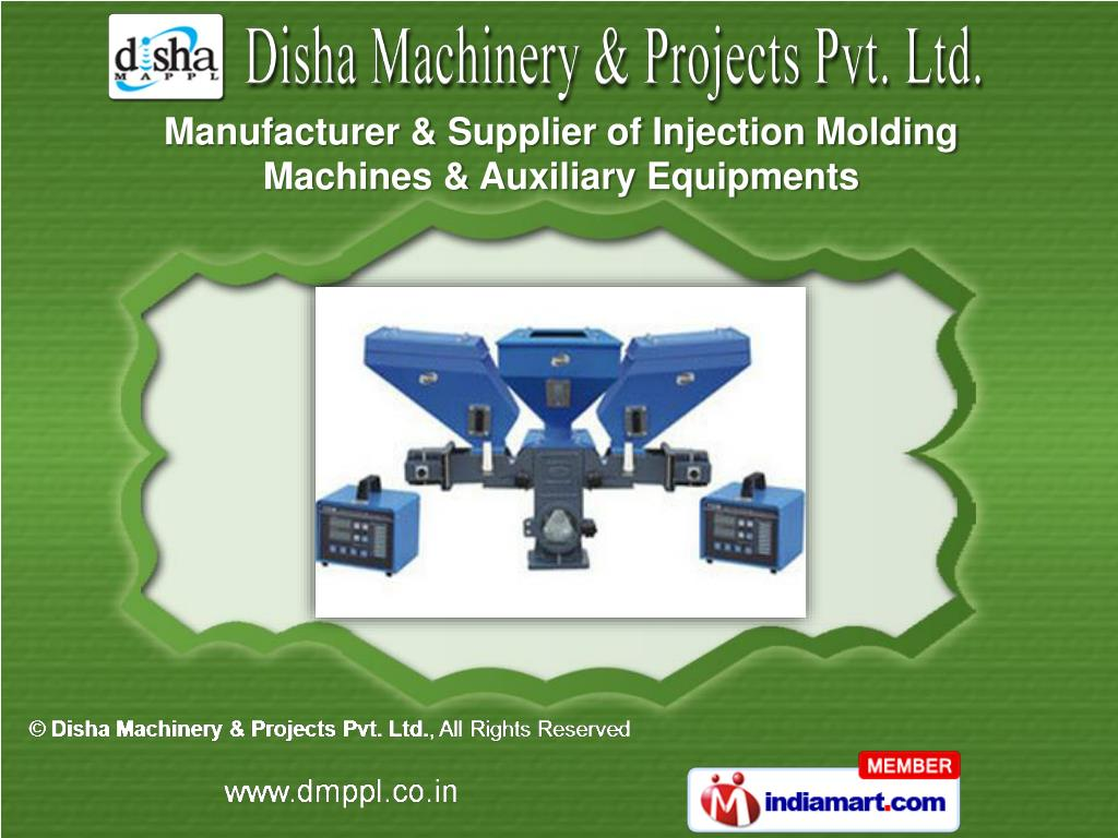 Manufacturer & Supplier of Injection Molding