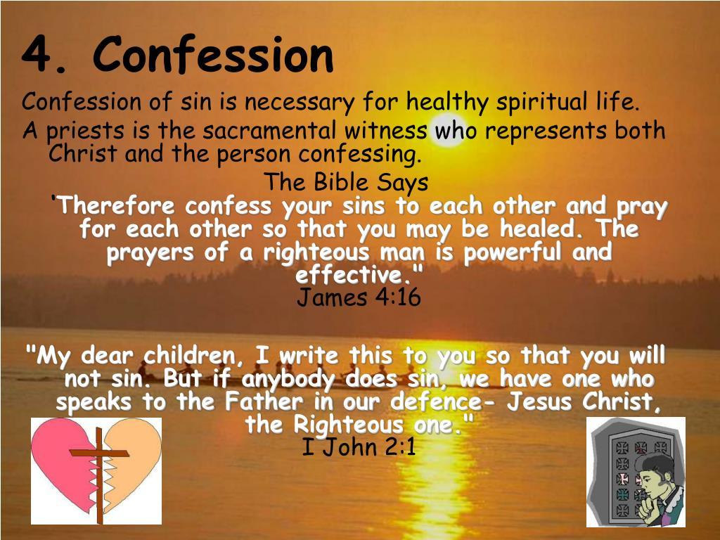 4. Confession