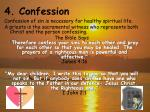 4 confession