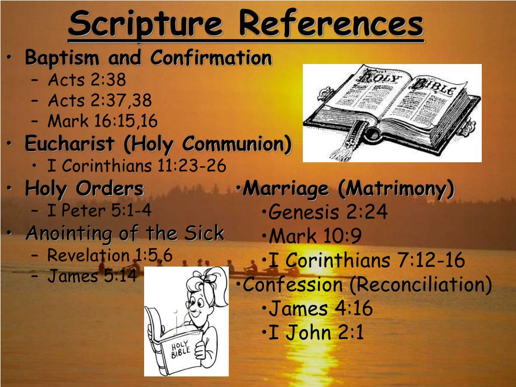 Scripture References