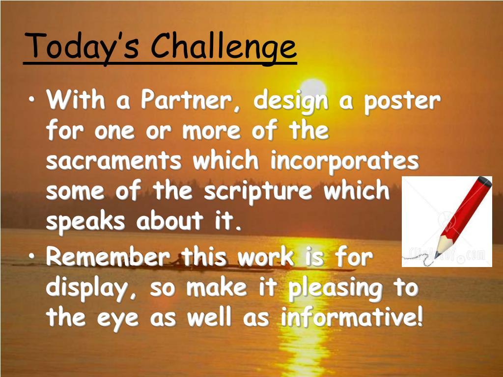 Today's Challenge