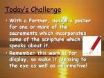 today s challenge