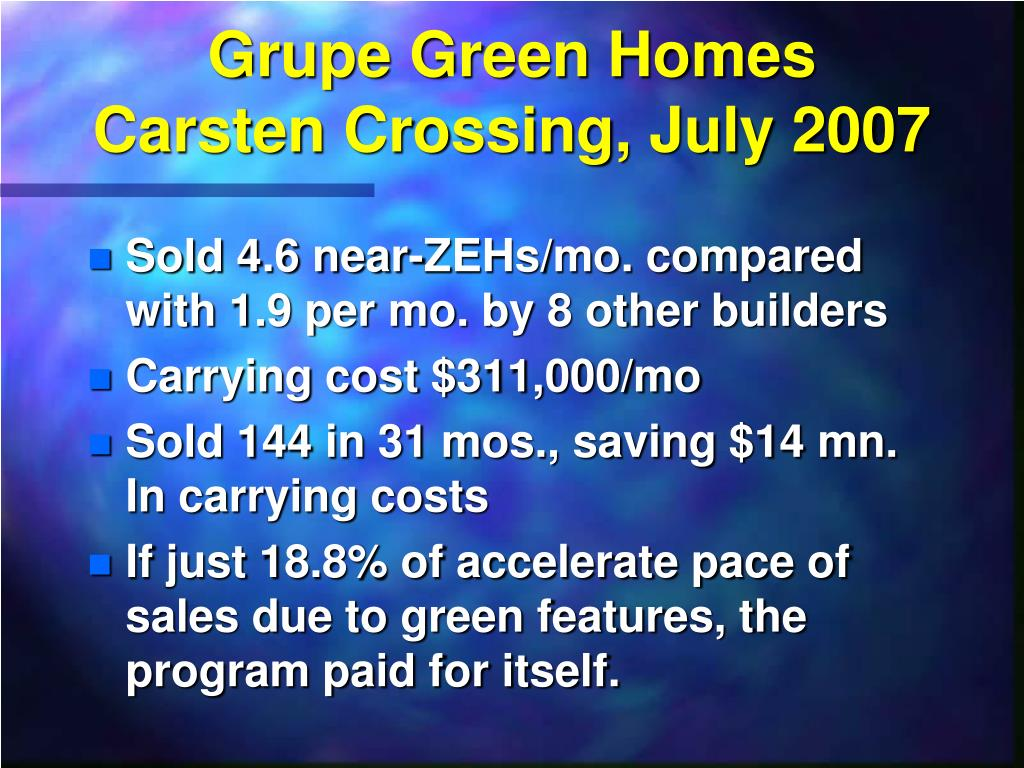 Grupe Green Homes