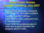 grupe green homes carsten crossing july 2007