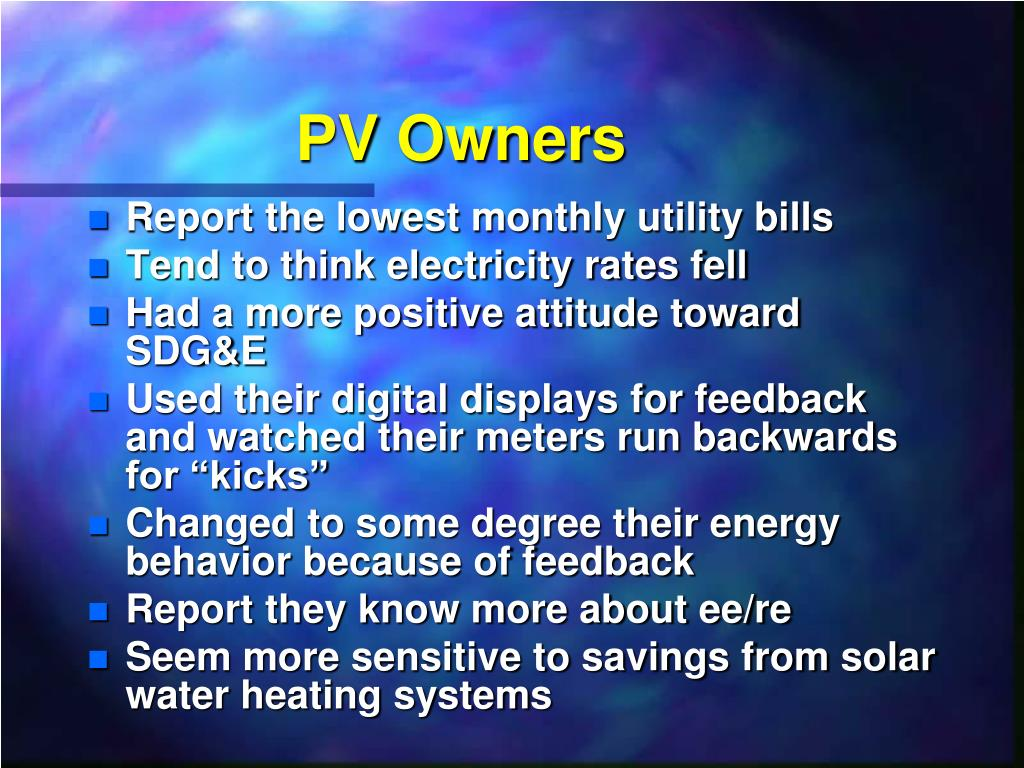 PV Owners