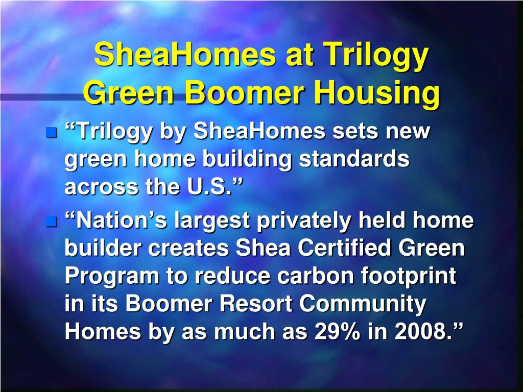SheaHomes at Trilogy
