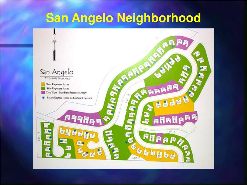 San Angelo Neighborhood