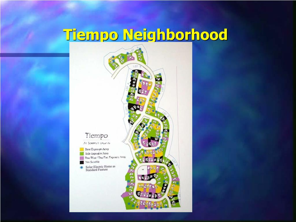 Tiempo Neighborhood