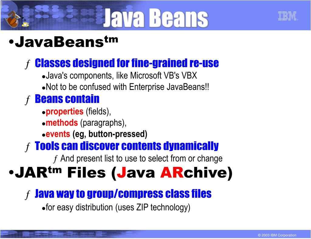 Java Beans