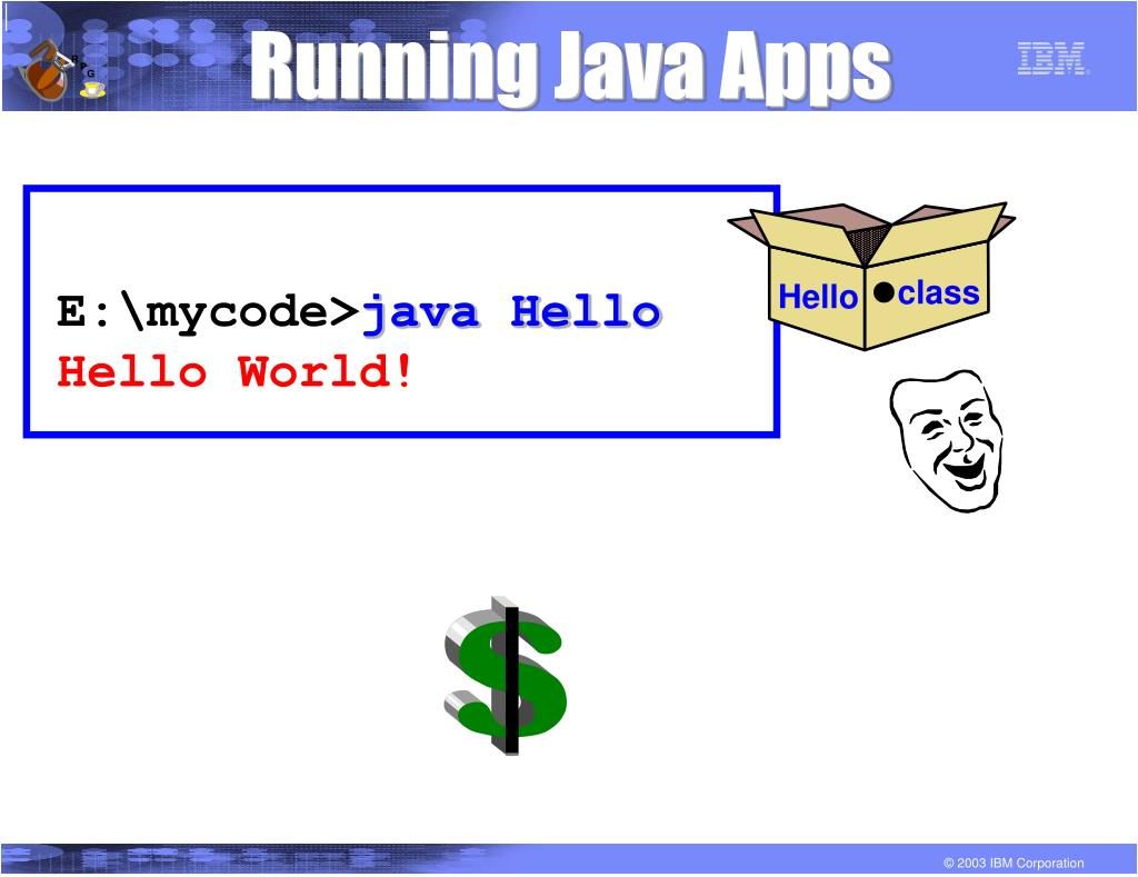 Running Java Apps