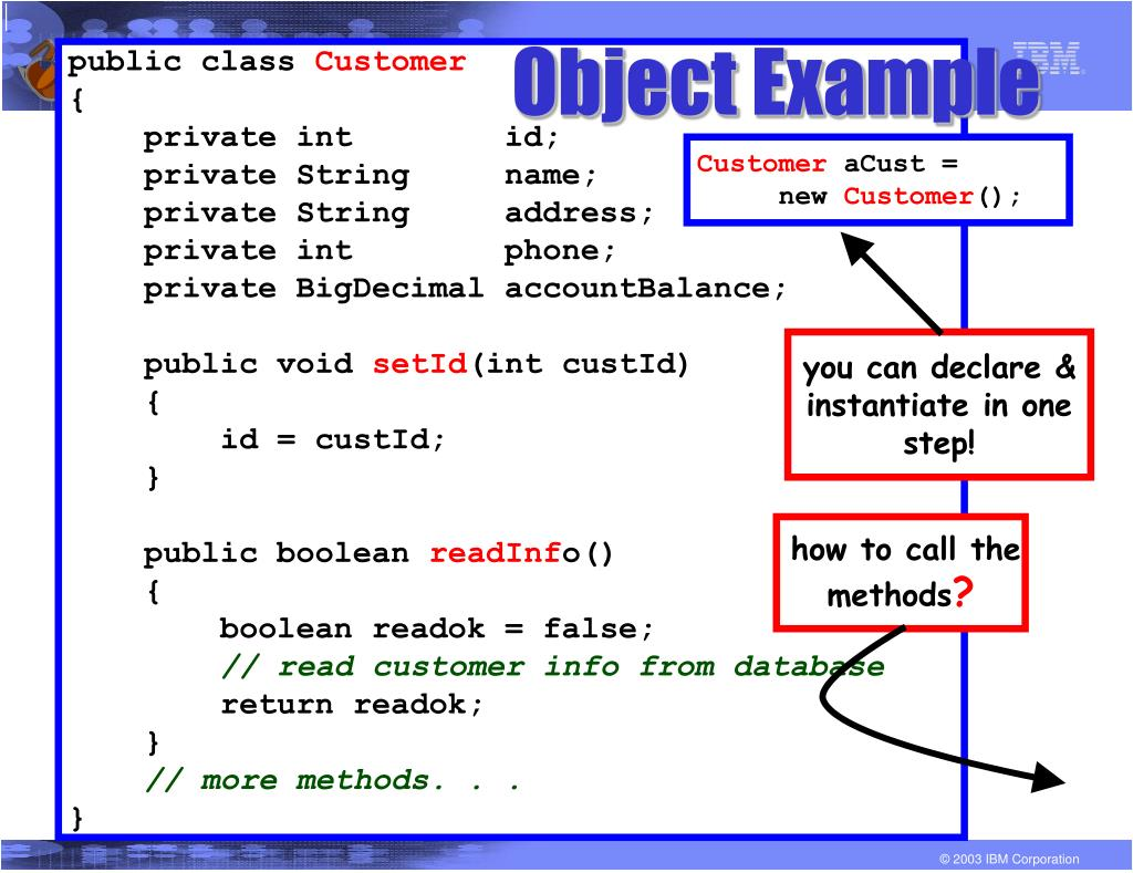 Object Example