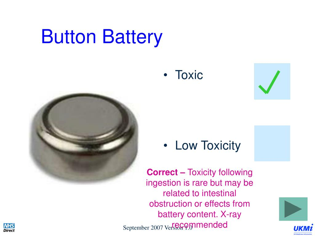 Button Battery