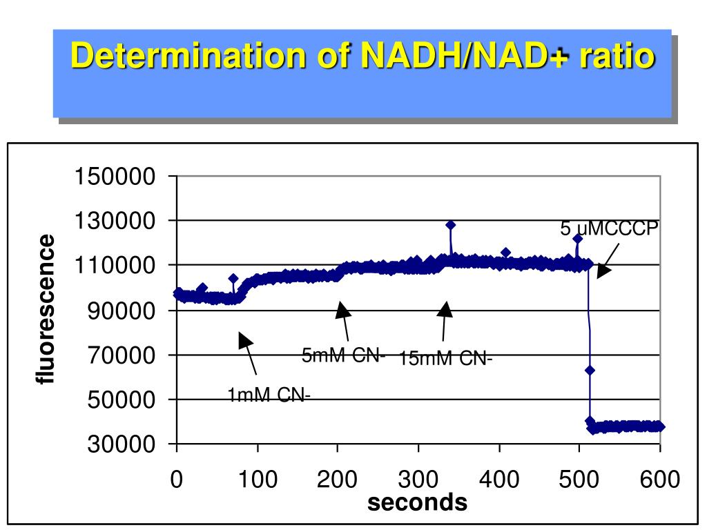 Determination of NADH/NAD+ ratio