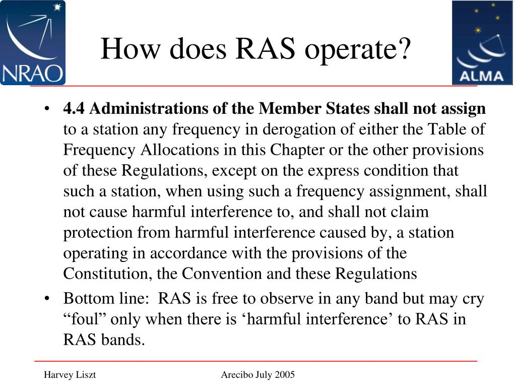 How does RAS operate?