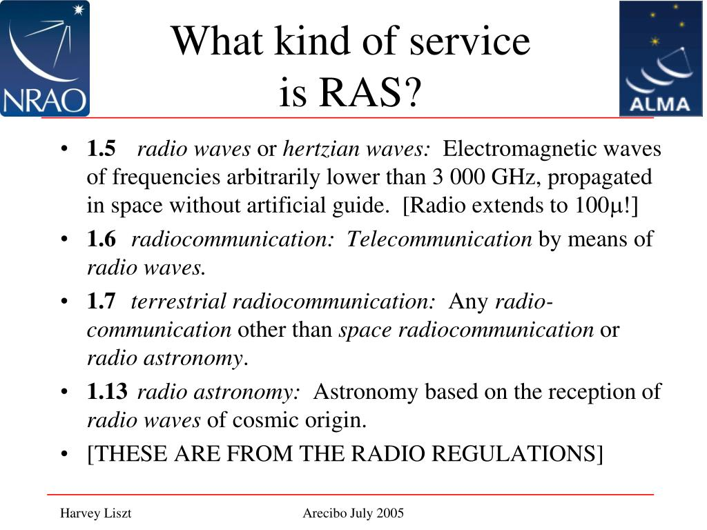 What kind of service is RAS?