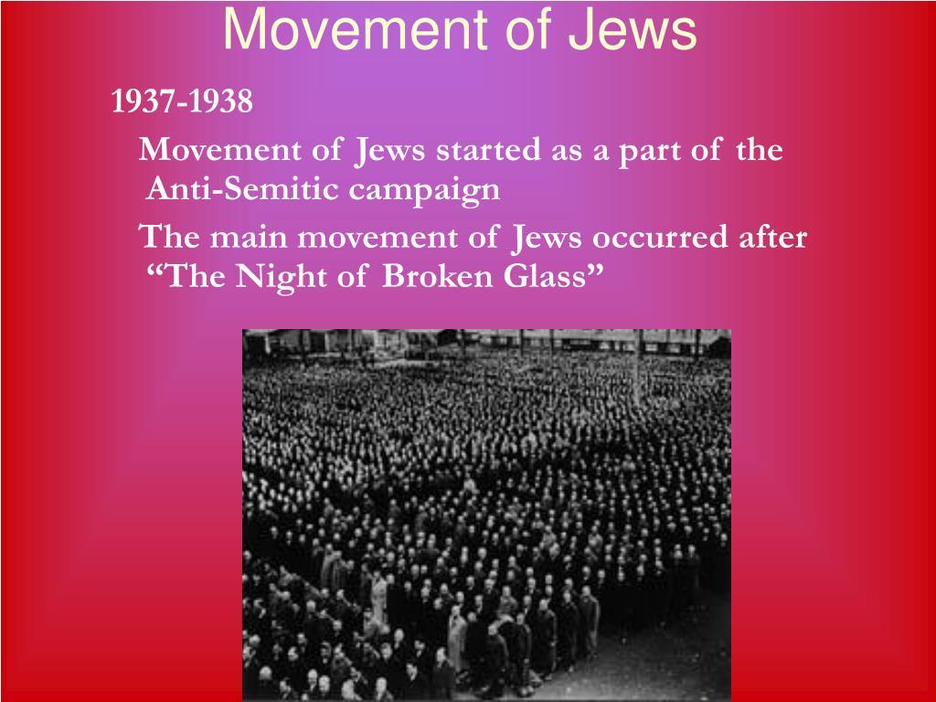 Movement of Jews