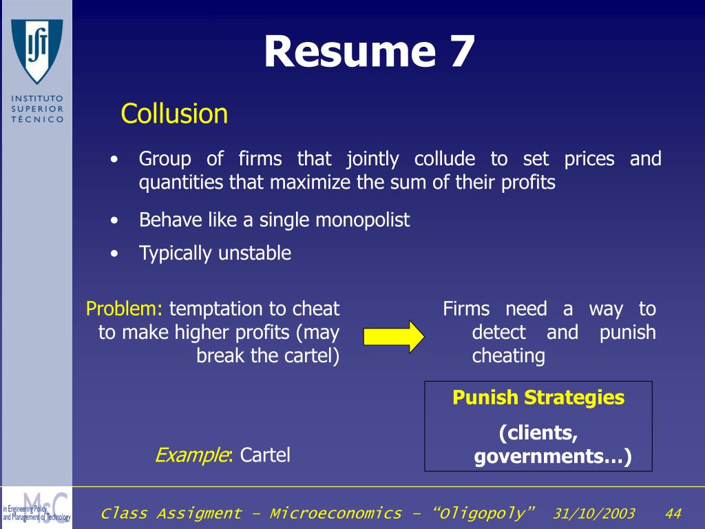 Resume 7