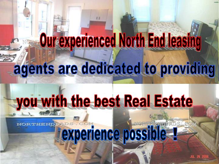 Our experienced North End leasing