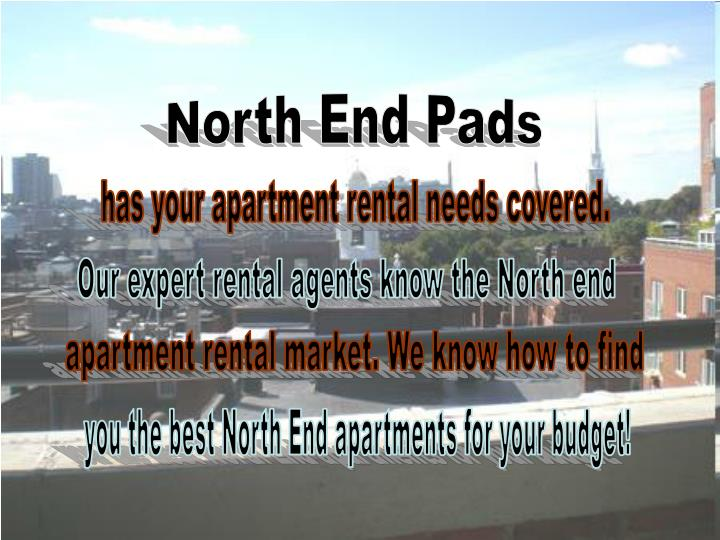 North End Pads