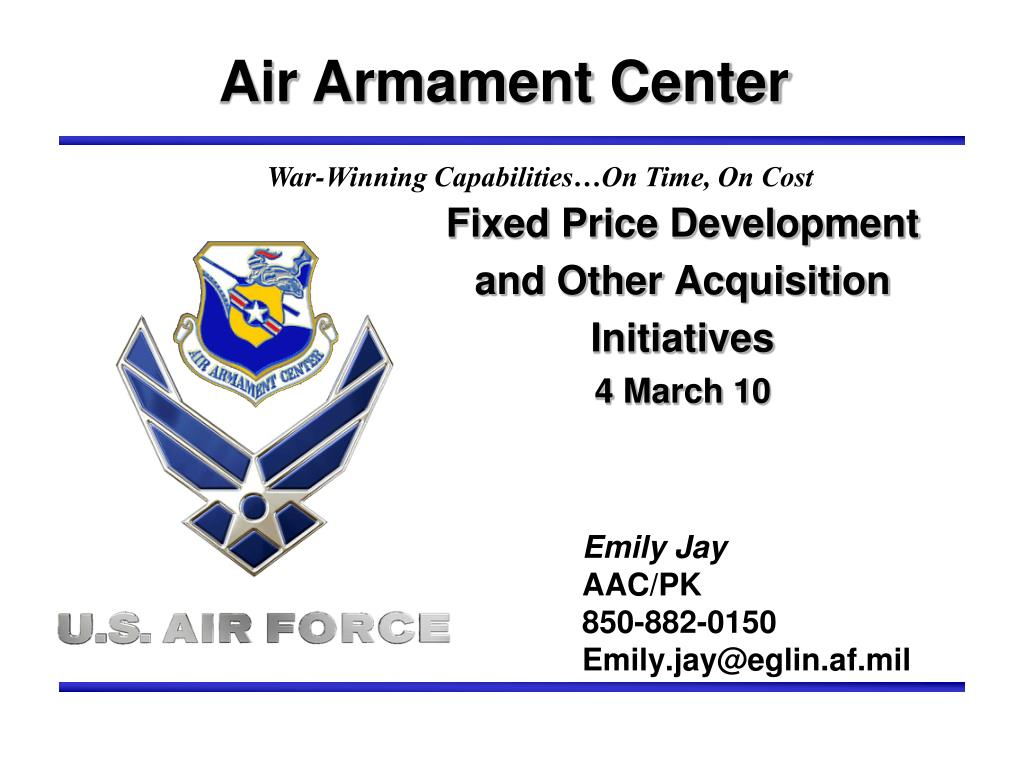 Air Armament Center
