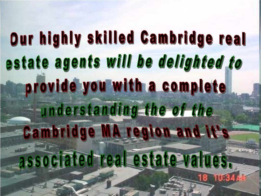 Our highly skilled Cambridge real