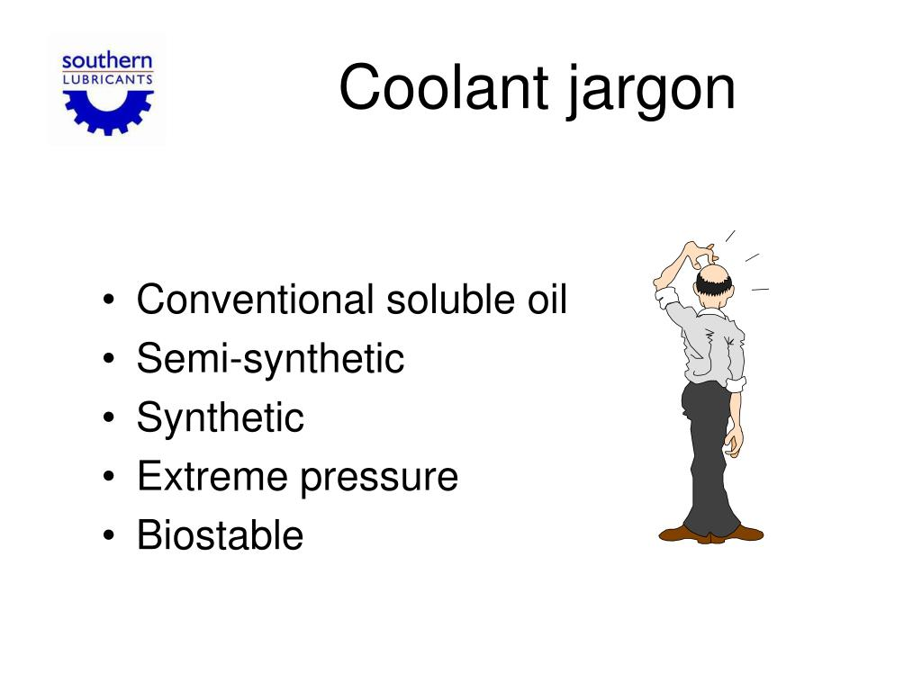 Coolant jargon