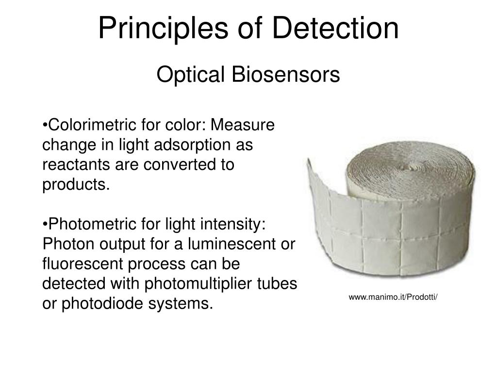 Principles of Detection
