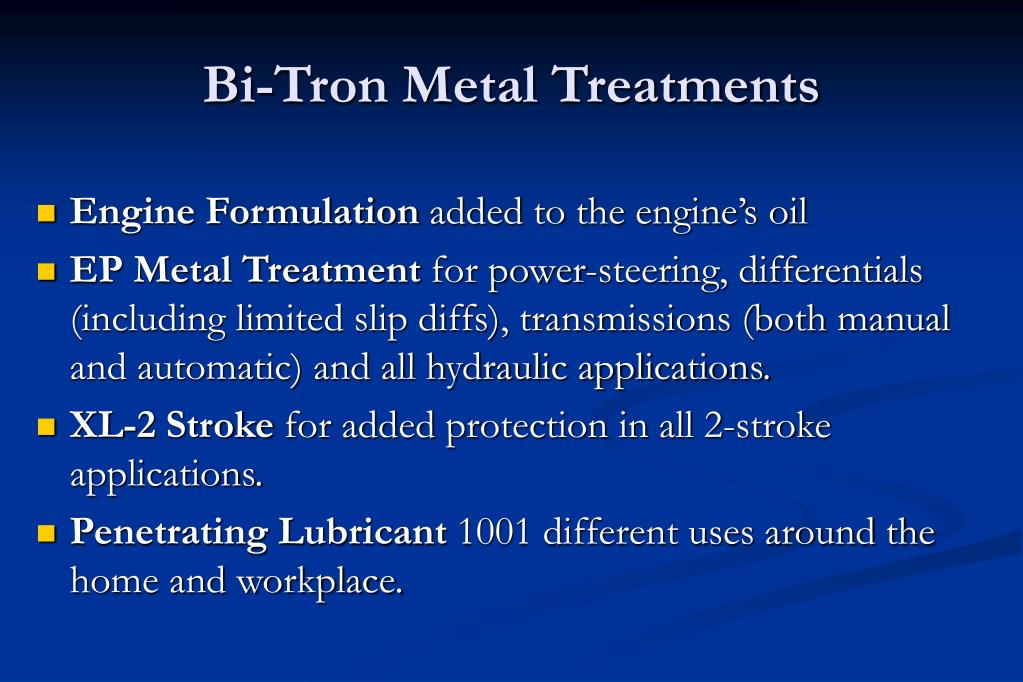 Bi-Tron Metal Treatments