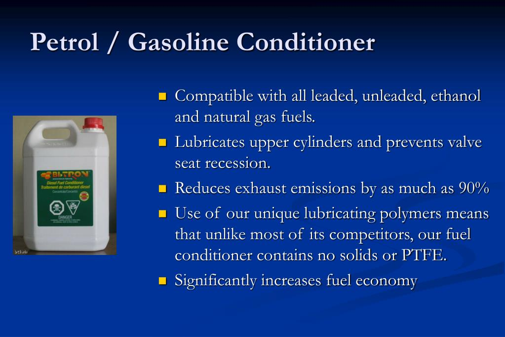 Petrol / Gasoline Conditioner