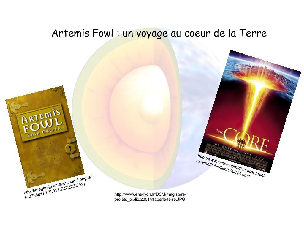 Artemis Fowl : un voyage au coeur de la Terre