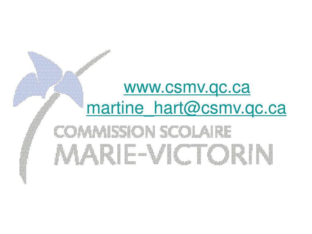 www.csmv.qc.ca