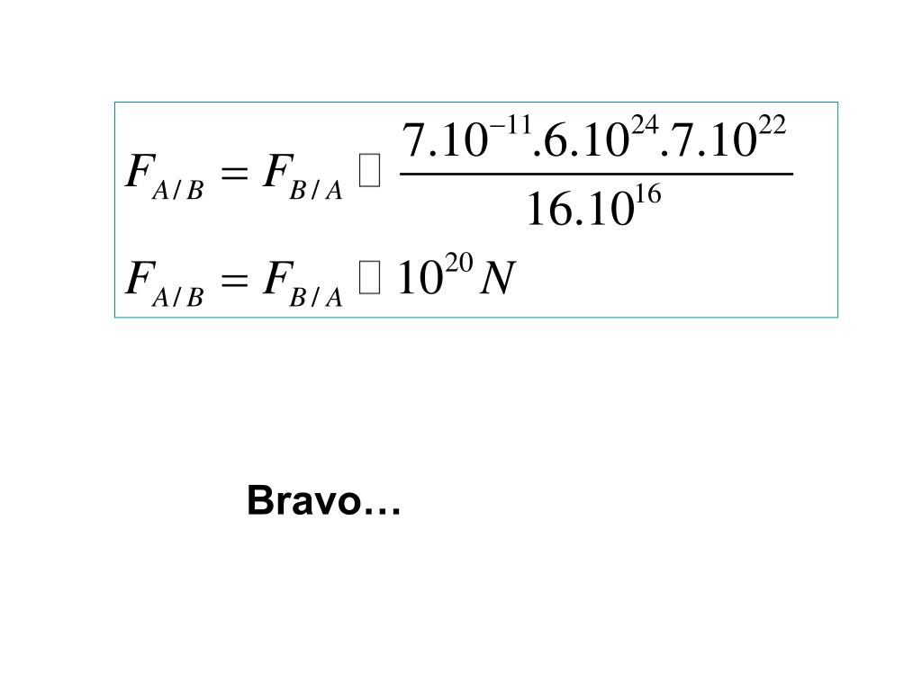 Bravo…
