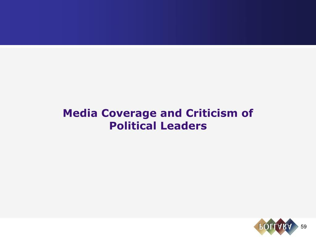 Media Coverage and Criticism of