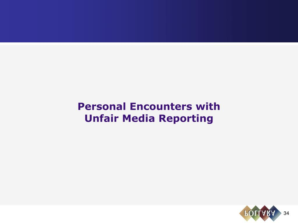 Personal Encounters with