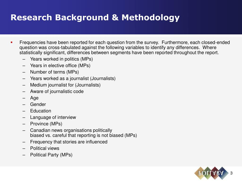 Research Background & Methodology