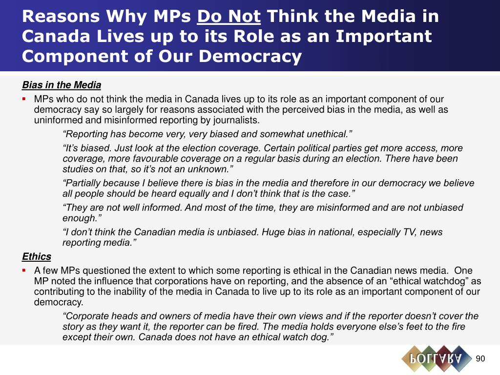 Reasons Why MPs