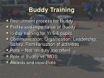 buddy training