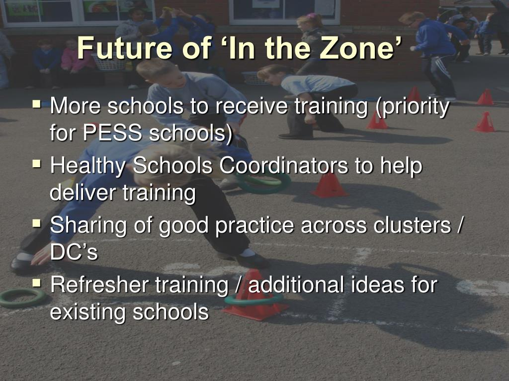 Future of 'In the Zone'