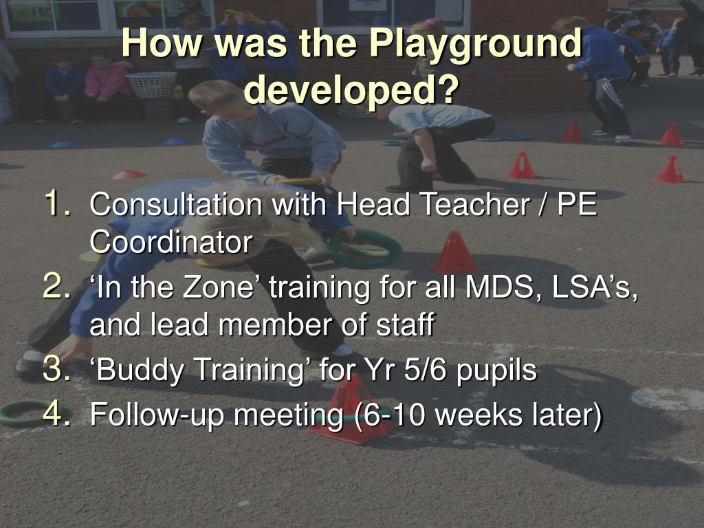 How was the Playground developed?