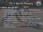 tir y berth primary14