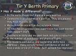 tir y berth primary15