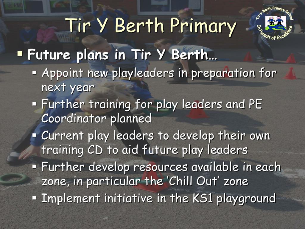 Tir-y-berth Primary School