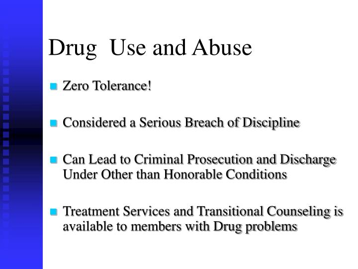 Drug use and abuse l.jpg
