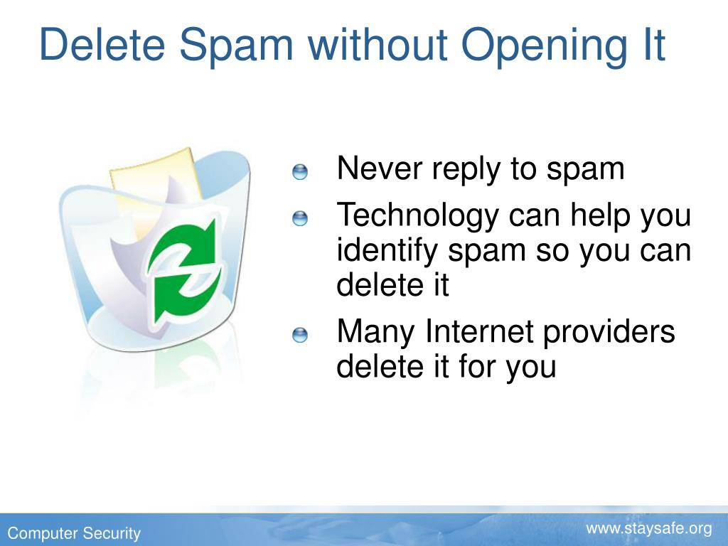 Delete Spam without Opening It