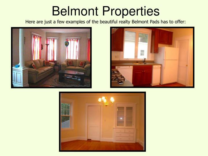 Belmont Properties
