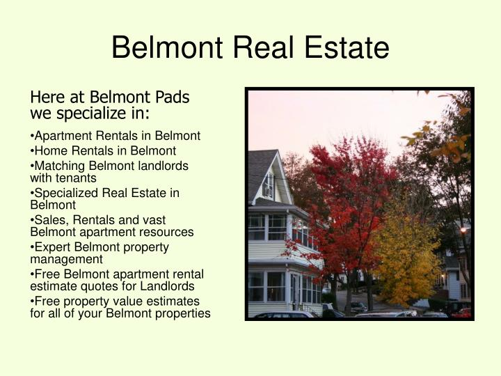 Belmont Real Estate