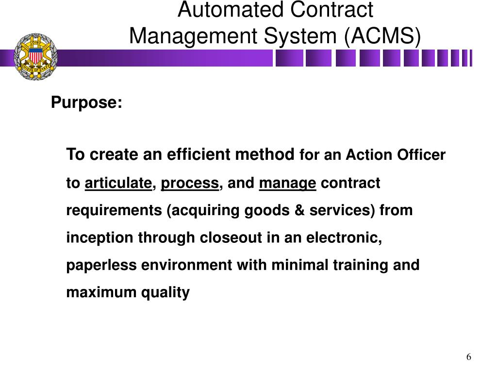 Contract Management System : Ppt resource management for the chairman joint staff